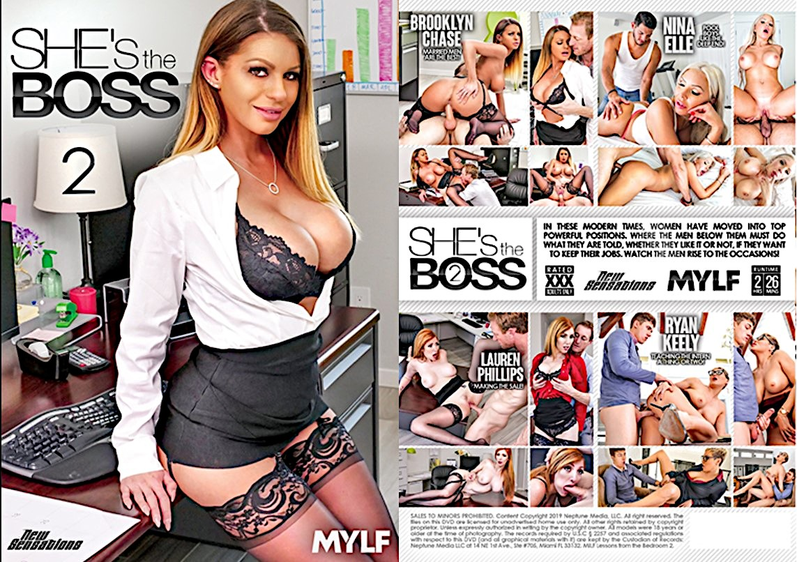 She's The Boss 2, Porn Video On Demand, 1080p HD, MYLF